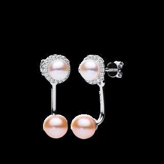 Brogle Selection Ohrhänger Perlen 2B633W8-2