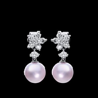 Brogle Selection Ohrhänger Basic Perlen 2G936W8-2