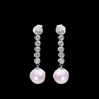 Brogle Selection Ohrhänger Basic Perlen 2H368W8-1