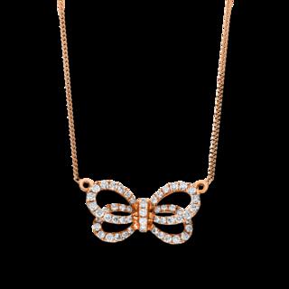 Brogle Selection Halskette mit Anhänger Basic Schleife 4F533R8-1