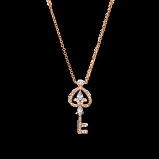 Brogle Selection Halskette mit Anhänger Basic Schlüssel 4F542R8-1