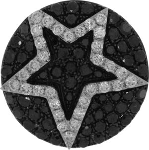 Anhänger Brogle Selection Basic Stern aus 750 Weißgold mit mehreren Brillanten (1,31 Karat)
