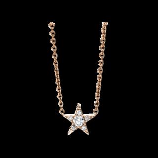 Brogle Selection Halskette mit Anhänger Basic Stern 4C158R4-2