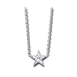 Brogle Selection Halskette mit Anhänger Basic Stern 4C158W4-1