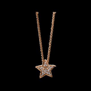 Brogle Selection Halskette mit Anhänger Basic Stern 4C548R8-1