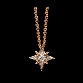 Brogle Selection Halskette mit Anhänger Basic Stern 4C783R8-4