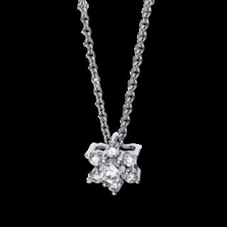 Brogle Selection Halskette mit Anhänger Basic Stern 4E527W8-1