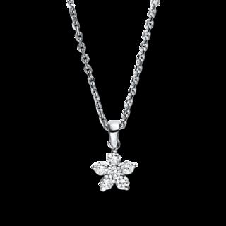 Brogle Selection Halskette mit Anhänger Basic Stern 4F678W8