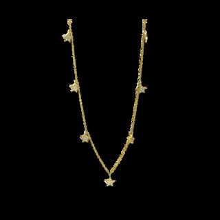Brogle Selection Halskette mit Anhänger Basic Sterne 4D580G8-1