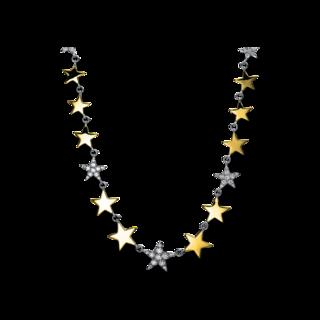 Brogle Selection Halskette Basic Sterne 4E483WG8-1