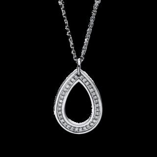 Brogle Selection Halskette mit Anhänger Basic Tropfen 4C853W4-2