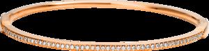 Armreif Brogle Selection Casual aus 750 Roségold mit 51 Brillanten (0,44 Karat)