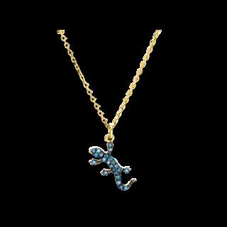 Brogle Selection Halskette mit Anhänger Casual Eidechse 4D449G8-1