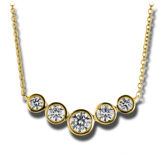 Brogle Selection Halskette mit Anhänger Casual 4A790G8-1