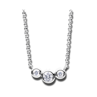 Brogle Selection Halskette mit Anhänger Casual 4A975W8-1