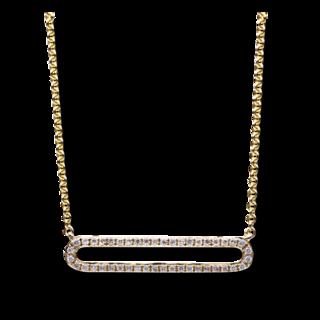 Brogle Selection Halskette mit Anhänger Casual 4B028G4-1