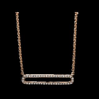 Brogle Selection Halskette mit Anhänger Casual 4B028R4-1