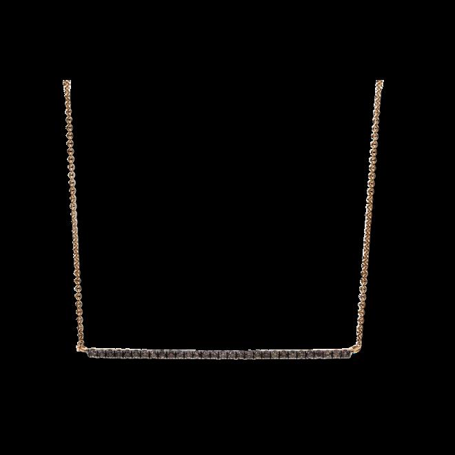 Halskette Brogle Selection Casual aus 750 Roségold mit 30 Brillanten (0,24 Karat) bei Brogle