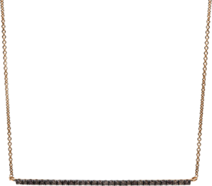 Halskette Brogle Selection Casual aus 750 Roségold mit 30 Brillanten (0,24 Karat)