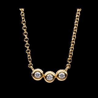 Brogle Selection Halskette mit Anhänger Casual 4B183G8-1