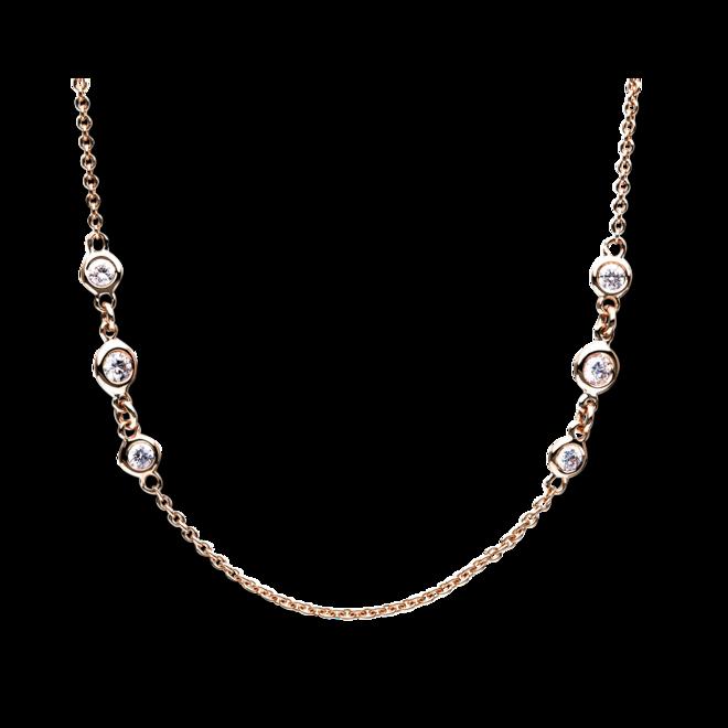 Halskette Brogle Selection Casual aus 750 Roségold mit 24 Brillanten (1,06 Karat) bei Brogle