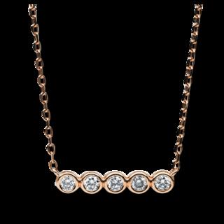 Brogle Selection Halskette mit Anhänger Casual 4B525R8-1