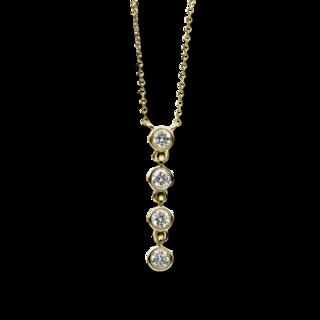 Brogle Selection Halskette mit Anhänger Casual 4B546G4-1