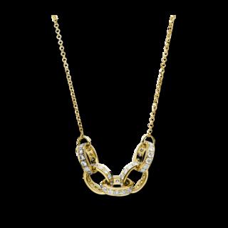 Brogle Selection Halskette mit Anhänger Casual 4C156G8-1