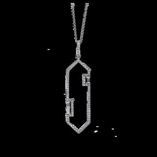Brogle Selection Halskette mit Anhänger Casual 4C375W8-1