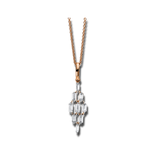 Brogle Selection Halskette mit Anhänger Casual 4C376R8-1
