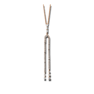 Brogle Selection Halskette mit Anhänger Casual 4C377R8-1
