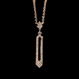 Brogle Selection Halskette mit Anhänger Casual 4C407R4-1