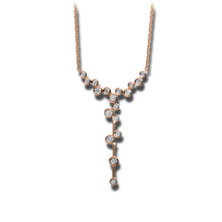 Brogle Selection Halskette mit Anhänger Casual 4D038R4