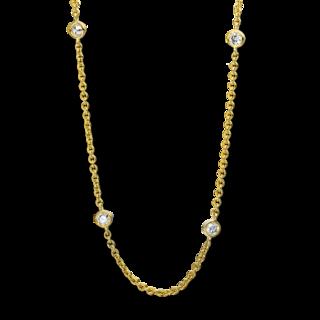 Brogle Selection Halskette mit Anhänger Casual 4D126G8