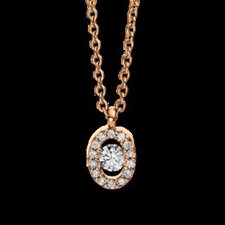 Brogle Selection Halskette mit Anhänger Casual 4D382R4-1