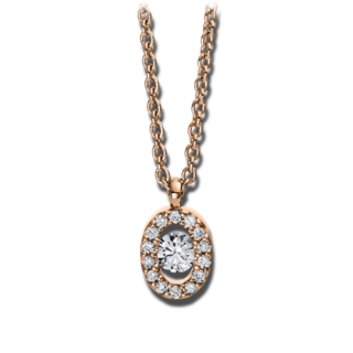 Brogle Selection Halskette mit Anhänger Casual 4D382R8-1