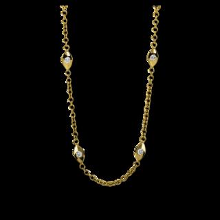 Brogle Selection Halskette mit Anhänger Casual 4D558G8-1