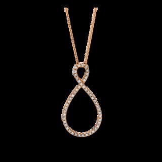 Brogle Selection Halskette mit Anhänger Casual 4D584R8-3