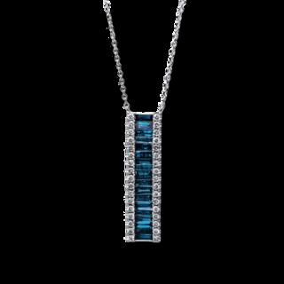 Brogle Selection Halskette mit Anhänger Casual 4D753W8-1
