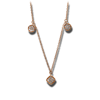 Brogle Selection Halskette mit Anhänger Casual 4D893R8-2