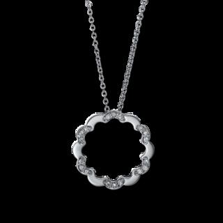 Brogle Selection Halskette mit Anhänger Casual 4D987W4-1