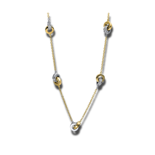 Brogle Selection Halskette mit Anhänger Casual 4E006GW4-4