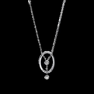 Brogle Selection Halskette mit Anhänger Casual 4E227W8-1