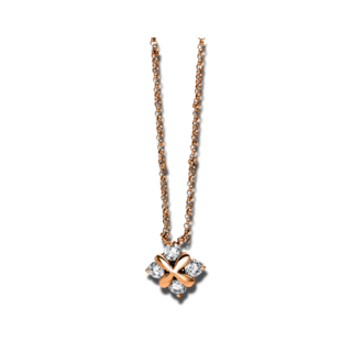 Brogle Selection Halskette mit Anhänger Casual 4E233R8-1
