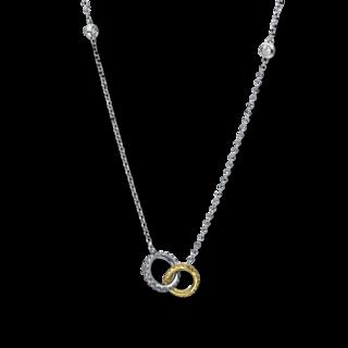 Brogle Selection Halskette mit Anhänger Casual 4E310WG