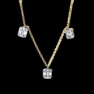 Brogle Selection Halskette mit Anhänger Casual 4E326G8-1