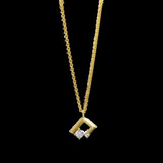 Brogle Selection Halskette mit Anhänger Casual 4E663G8-1
