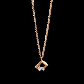 Brogle Selection Halskette mit Anhänger Casual 4E663R8-1