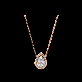 Brogle Selection Halskette mit Anhänger Casual 4E756R8-1
