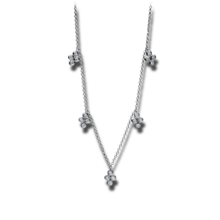Brogle Selection Halskette mit Anhänger Casual 4E896W4-1